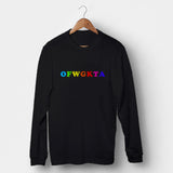 OFWGKTA Colorful Man's Long Sleeve | Leaftunes
