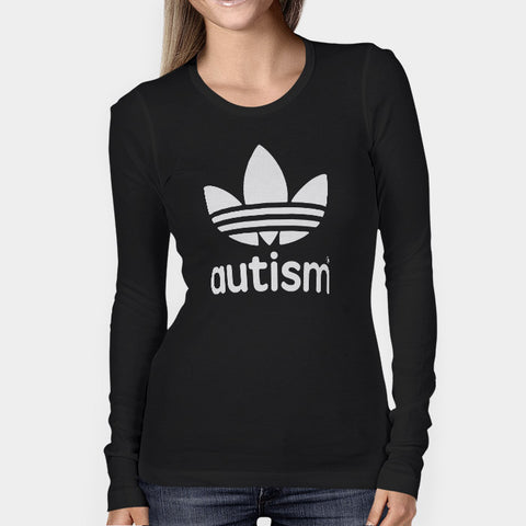 Adidas Autism Woman's Long Sleeve | Leaftunes