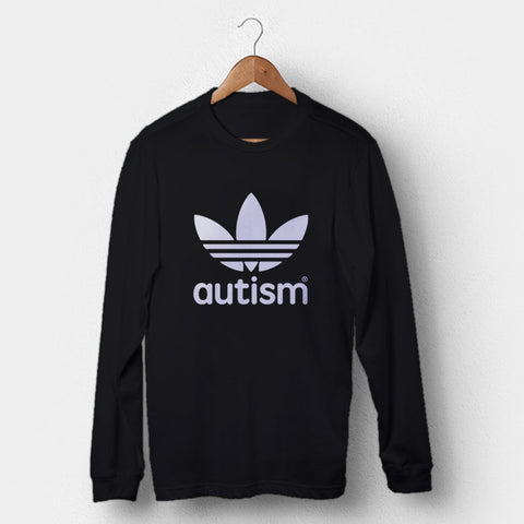 Adidas Autism Man's Long Sleeve | Leaftunes