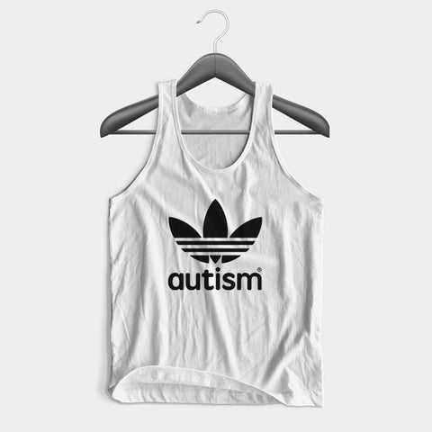 Adidas Autism Man's Tank Top | Leaftunes