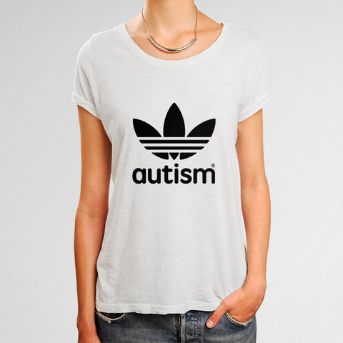 Adidas Autism Woman's T-Shirt | Leaftunes