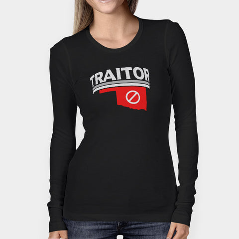 Baker Mayfield Traitor Texas Woman's Long Sleeve | Leaftunes