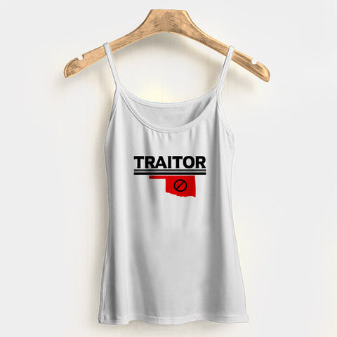 Baker Mayfield Traitor Texas Woman's Tank Top Halter Top | Leaftunes