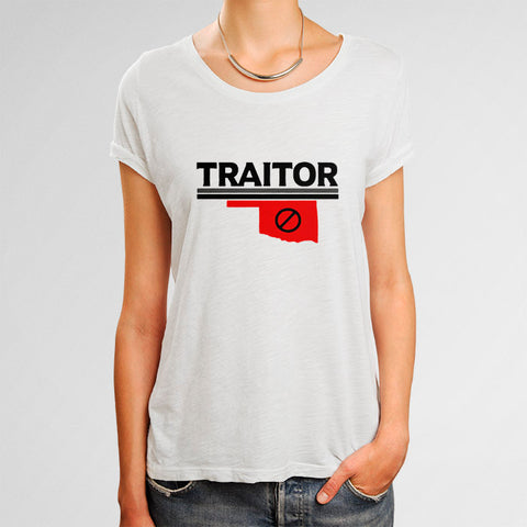 Baker Mayfield Traitor Texas Woman's T-Shirt | Leaftunes
