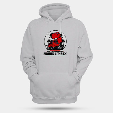 All The Dinosaurs Feared The D Rex Man's Hoodies | Leaftunes