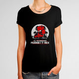 All The Dinosaurs Feared The D Rex Woman's T-Shirt | Leaftunes