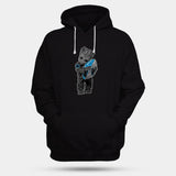 Baby Groot Hugging Carolina Panthers Man's Hoodies | Leaftunes