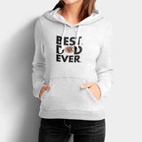 Best Dad Ever Father's Day Chicago Bears Woman's Hoodies | Leaftunes