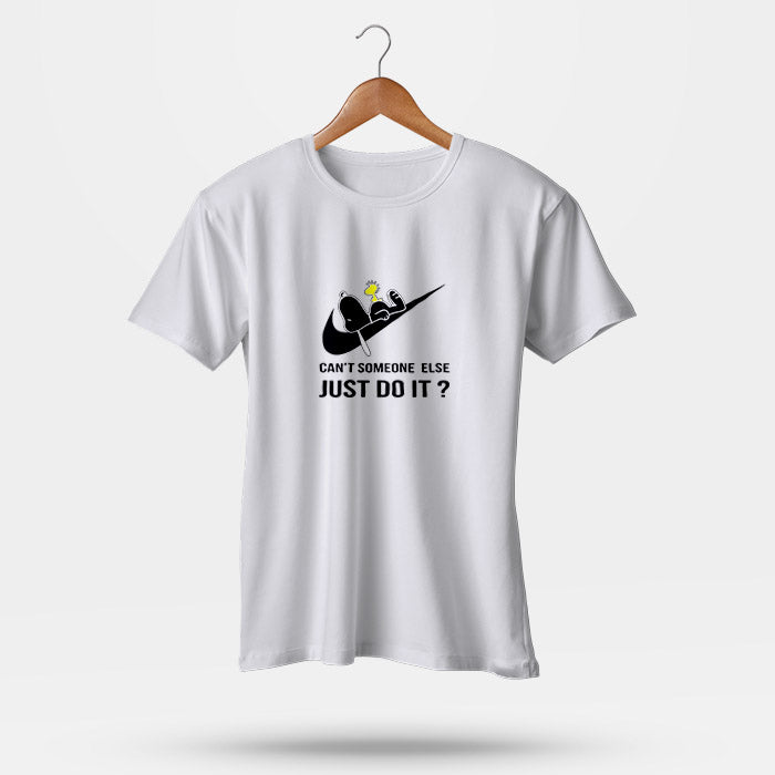 9da08550ed Can t Someone Else Just Do It Snoopy Nike Man s T-Shirt