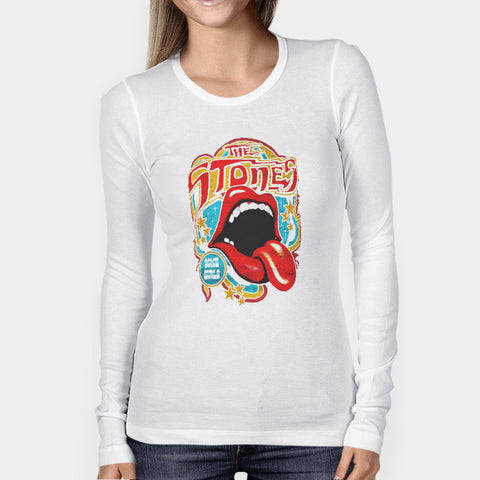 The Rolling Stones Some Girls Woman's Long Sleeve | Leaftunes