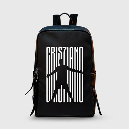 Christiano Ronaldo Juventus CR7Juve School Backpacks | Leaftunes