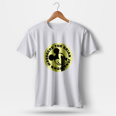 The Brian Jonestown Massacre Vintage Mickey Mouse Man's T-Shirt | Leaftunes