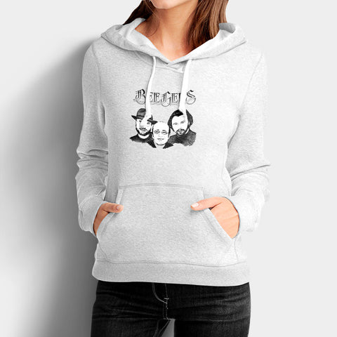 The Bee Gees Woman's Hoodies | Leaftunes
