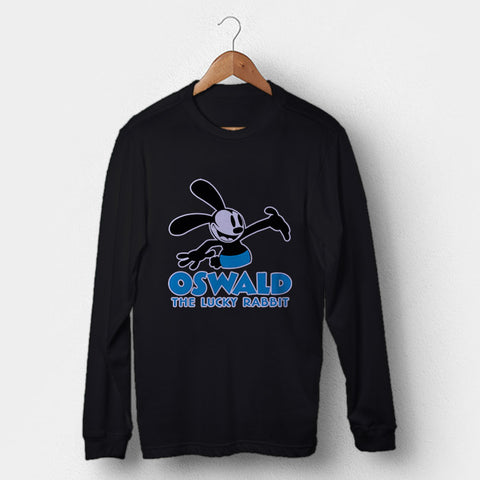 Oswald The Lucky Rabbit Man's Long Sleeve | Leaftunes