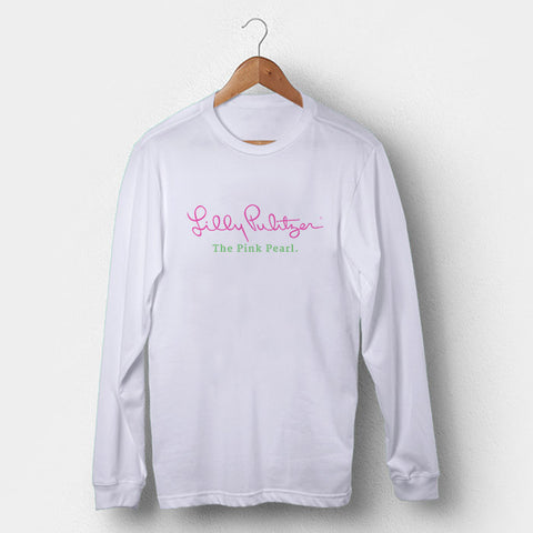 Lilly Pulitzer Logo Man's Long Sleeve | Leaftunes