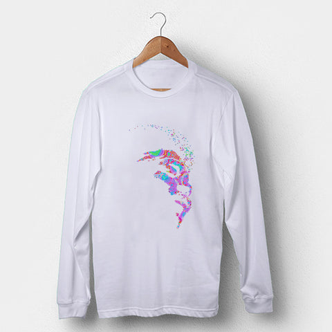 Hendrix Psychedelic Man's Long Sleeve | Leaftunes