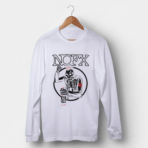 Nofx Punk Band Man's Long Sleeve | Leaftunes