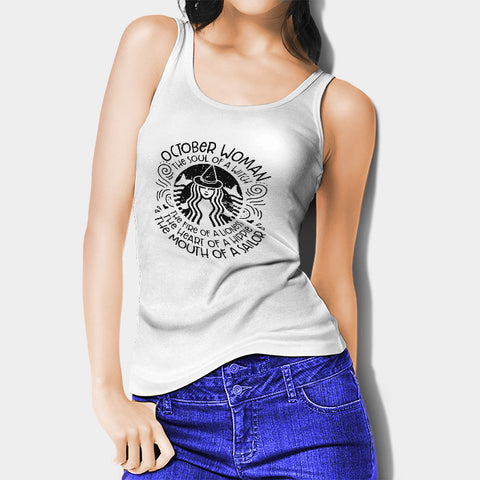 October Woman Woman's Tank Top | Leaftunes