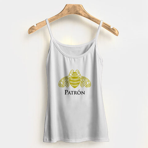 Patron Tequila Logo Woman Tank Top Halter Top | Leaftunes