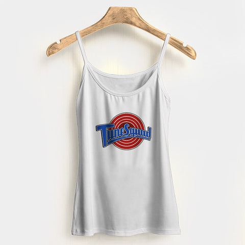 Tune Squad Woman's Tank Top Halter Top | Leaftunes