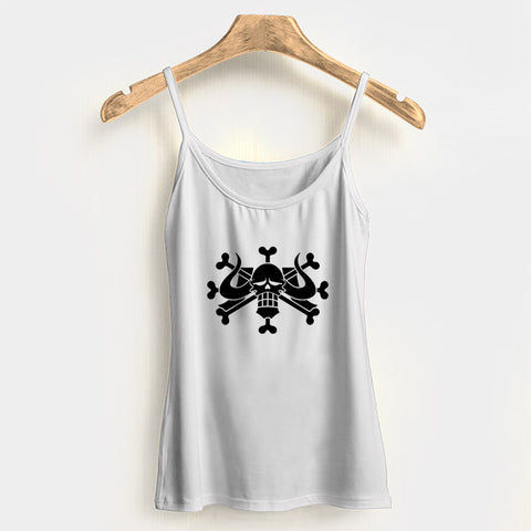Beasts Pirates Jolly Roger One Piece Woman's Tank Top Halter Top | Leaftunes