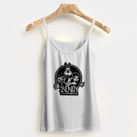 Bendy And The Ink Machine Boris Alice Woman's Tank Top Halter Top | Leaftunes