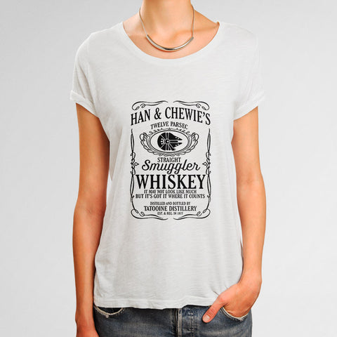 Han & Chewie's Whiskey Woman's T-Shirt | Leaftunes
