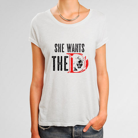 She Wants The D Daryl Dixon Woman's T-Shirt | Leaftunes