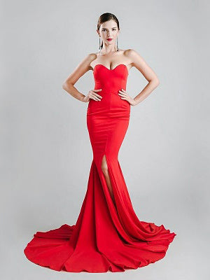 Rose Gown- Red