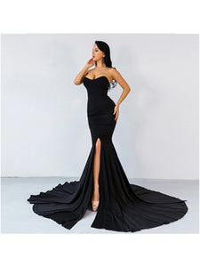 Rose Gown- Black