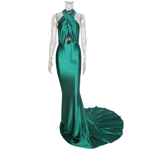 Iris Multiway Gown- Emerald - Top Glam Shop