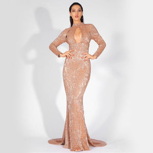 5th Avenue Gown- Gold