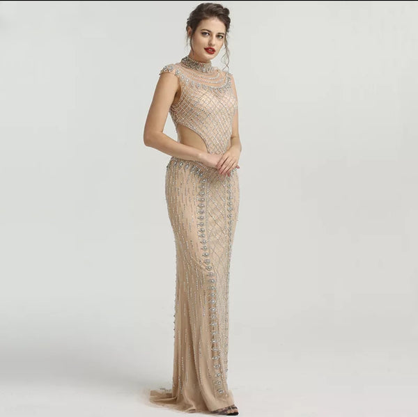 Adelaide Beaded Gown - Top Glam Shop