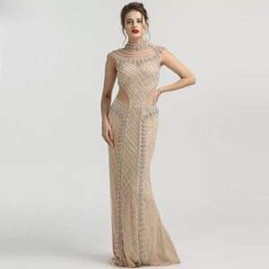 Adelaide Beaded Gown