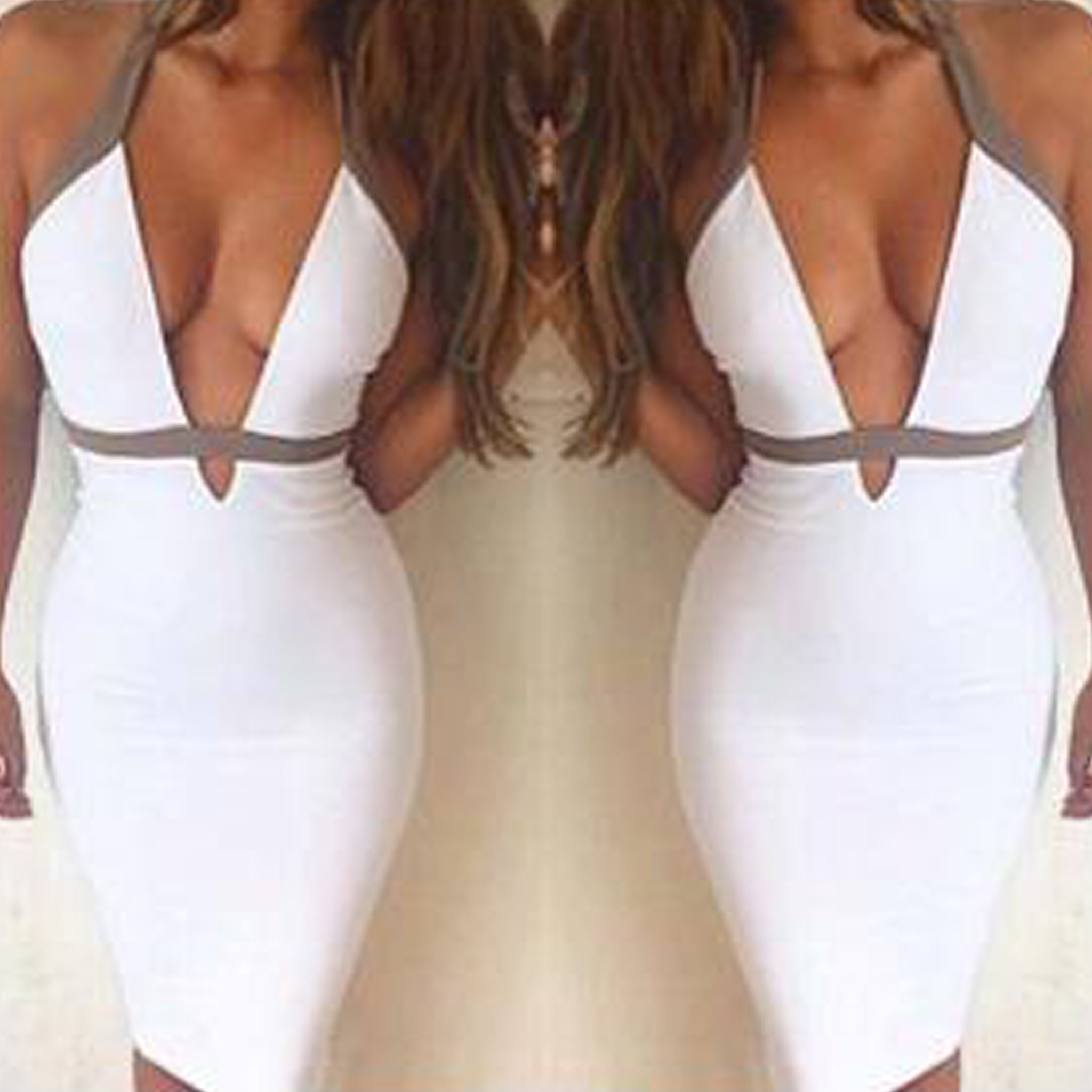 Adelle Bandage Dress - Top Glam Shop