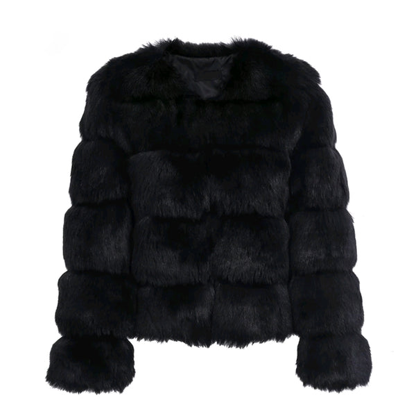 Adora Faux Fur Coat- 3 Colors - Top Glam Shop