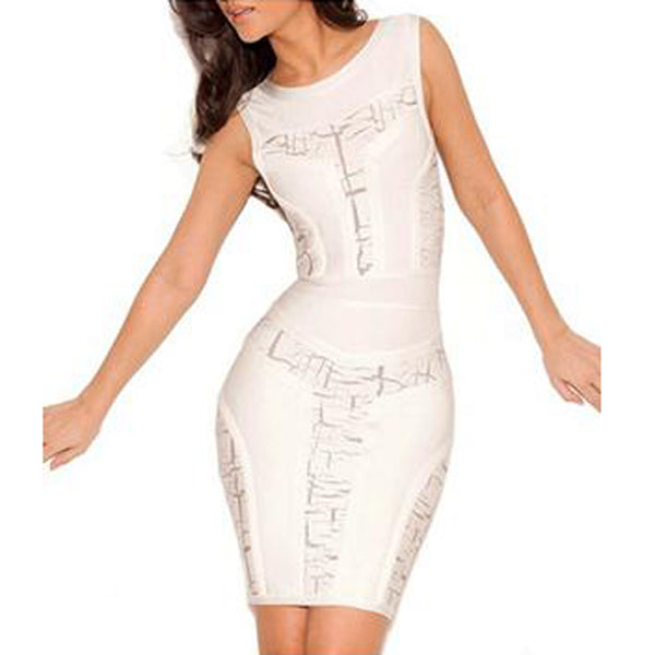 Alaya Bandage Dress - Top Glam Shop