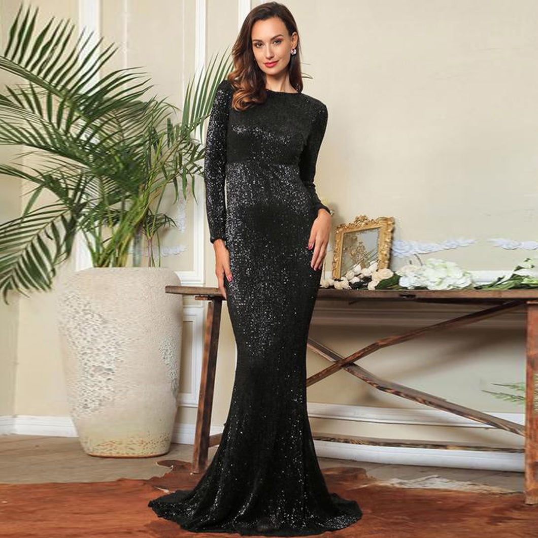 Araceli Gown- Black