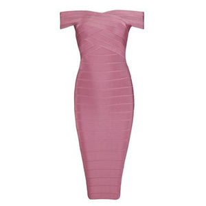 Avery Bandage Dress - Top Glam Shop