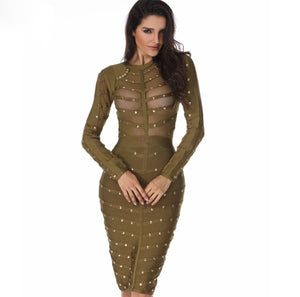 Electra Bandage Dress- 6 Colors