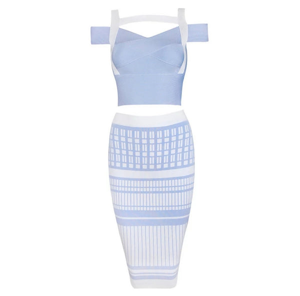 Fantasia Bandage Dress - Top Glam Shop