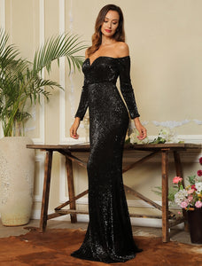 Giselle Gown- Black