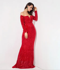 Giselle Gown- Red