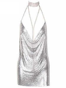Starlight Dress- Silver