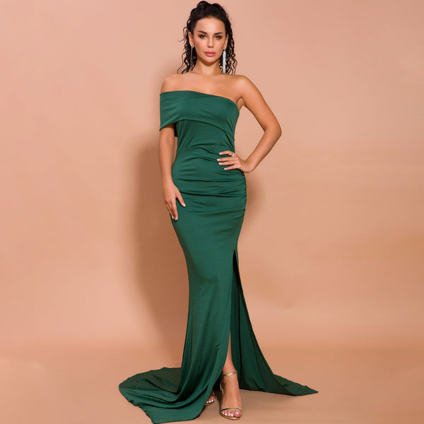 Laurinda Gown- Emerald - Top Glam Shop