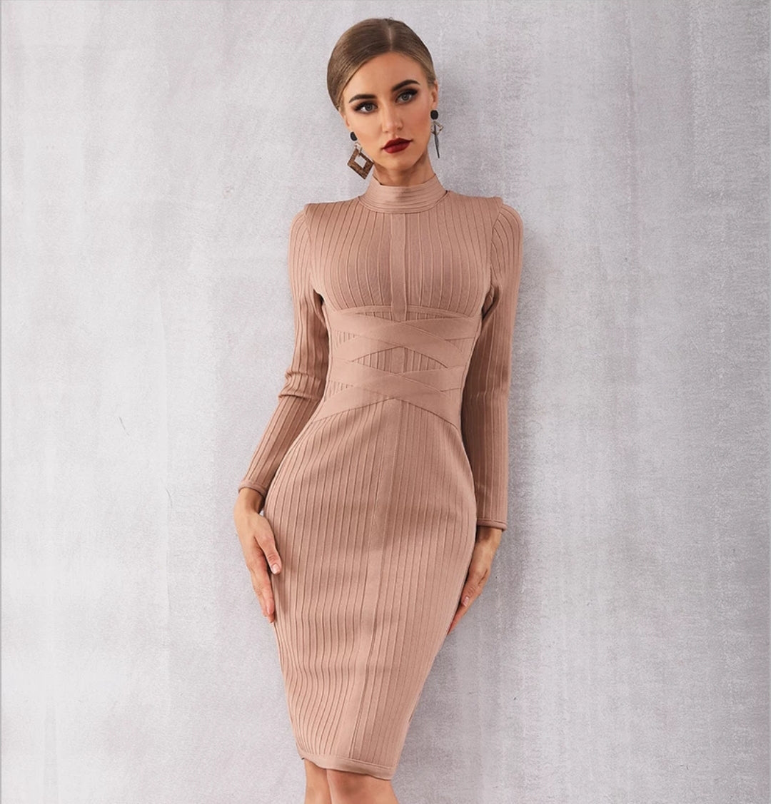 Lorena Bandage Dress - Top Glam Shop