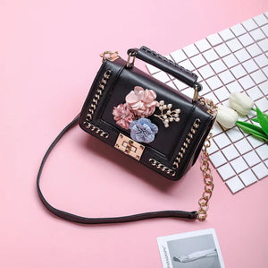 Lucy 3D Embroidered Bag- 3 Colors