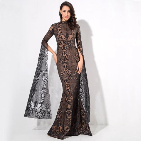 Marianna Gown- Black - Top Glam Shop