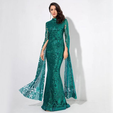 Marianna Gown- Emerald - Top Glam Shop