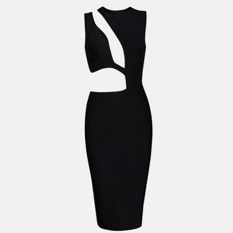 Midnight Bandage Dress - Top Glam Shop